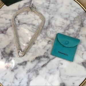 Tiffany & Co. • Elsa Peretti Open Heart Necklace